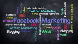 How can you promote your business on social media?