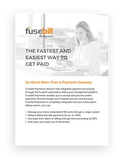 Payment Processing with Subscription Billing.