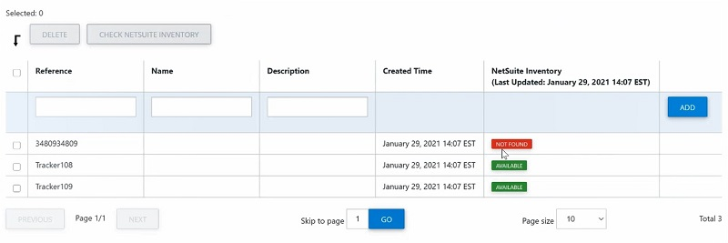 NetSuite Billing and Inventory Check