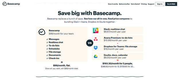 pricing page improves saas value