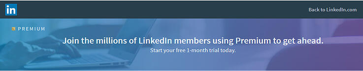 linkedin promotion for upgrading